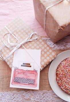 Geburtstag Schreibmaschine