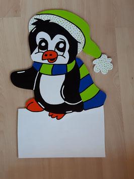 Nr.54 Kleiner Pinguin grün/blau