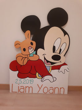 Nr.51 Baby Mickey Maus rot