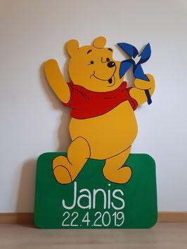 Nr.6 Winnie Pooh mit Windrad