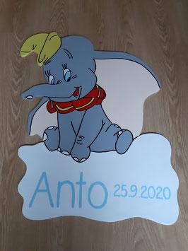 Nr.45 Dumbo der fliegende Elefant