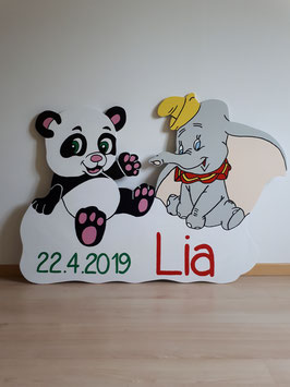 Nr.4 Pandabär & Dumbo