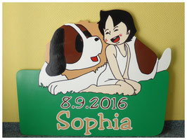 Nr.13 Heidi mit Hund Josef