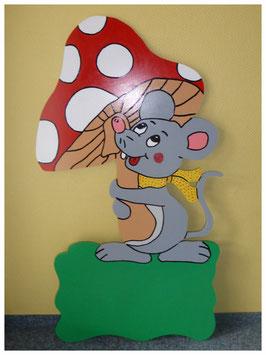 Nr.41 Maus mit Fliegenpilz