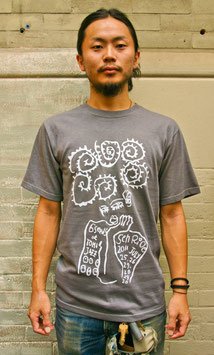 6 Seeds Senri Oe x Tomi Jazz: Men's T-Shirt Gray