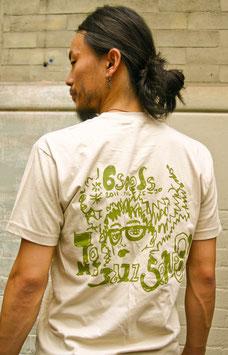 6 Seeds Senri Oe x Tomi Jazz: Men's T-Shirt Cream