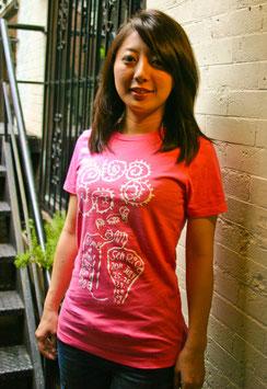 6 Seeds Senri Oe x Tomi Jazz: Women's T-Shirt Pink