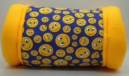 Kuschelrolle Smiley gelb ( Jersey )