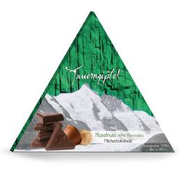 Tauerngipfelschokolade Haselnuss
