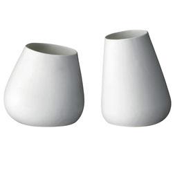 Vase weiß - bloomingville