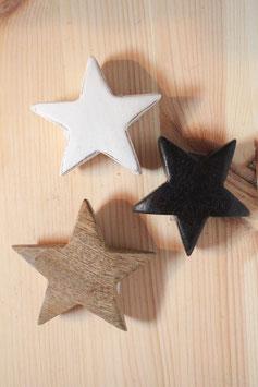 Holzstern klein (verschiedene Farbvarianten) - Ib Laursen