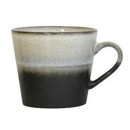 Ceramic 70's Cappuccino Mug rock - HK Living