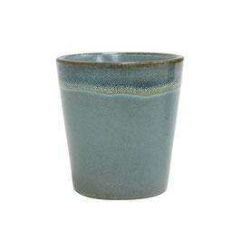 Ceramic 70's Mug moss - HK Living