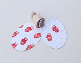 Stempel Handschuh klein - Perlenfischer
