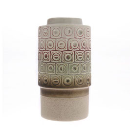 Ceramic Retro Vase - HK Living