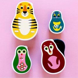 Snackbox Set Tiere - OMM Design