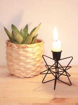 Kerzenständer schwarz - Strömshaga