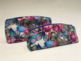 TROUSSE FLORALE AQUARELLE - Velours