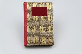 Handeinband: Buch mit leeren Seiten