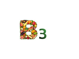 Vitamine B3 Niacine 500mg capsules