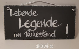 Lebende Legende im Ruhestand!