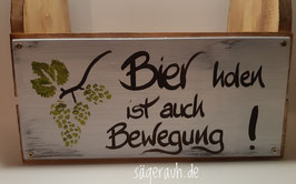 Biertragl - Bier holen ist auch Bewegung