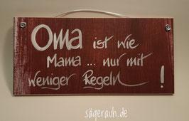 Oma ist wie Mama ... nur mit weniger Regeln