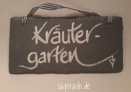 Kräutergarten - Schiefer
