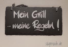 Mein Grill meine Regeln! - Schiefer