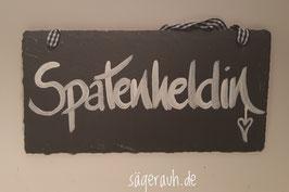 Spatenheldin - Schiefer