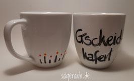 Tasse - Gscheidhaferl