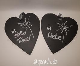 Schieferherz 17/20 - Trauer