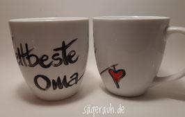 Tasse - Weltbeste Oma/Opa