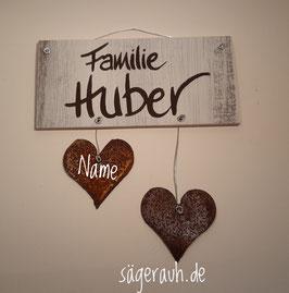 Türschild - Familie *Wunschname*