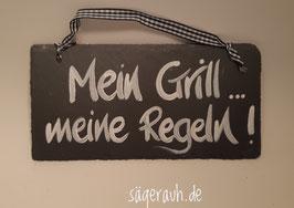 Mein Grill, meine Regeln! - Schiefer