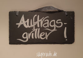 Auftragsgriller - Schiefer