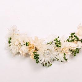 Barrette de fleurs séchées - Amélie - Végétale