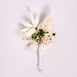 Boutonnière de fleurs séchées - Naturelle et Végétale - Collection Amélie