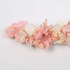 Barrette de fleurs séchées - Olivia - Romantique