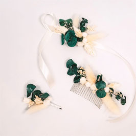 Coffrets de fleurs séchées - Collection Louise - Eucalyptus