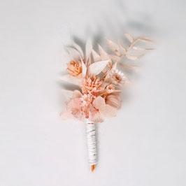 Boutonnière de fleurs séchées - Collection Olivia - Romantique