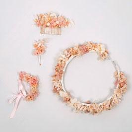 Coffrets de fleurs séchées - Collection Olivia - Romantique