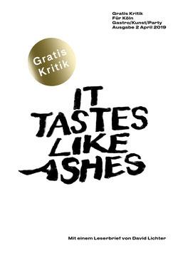 It Tastes Like Ashes - Gratis Kritik. Ausgabe 2