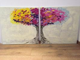 """Acrylbild """"Der Seelenbaum"""""""