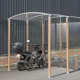 Abri-Vélos 5 Places