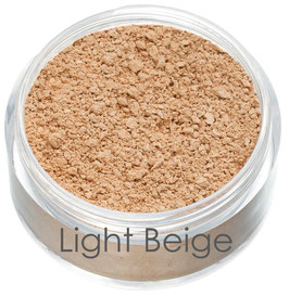 Mineral, Vegan & Organic Foundation - Light Beige