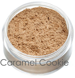 Mineral, Vegan & Organic Foundation - Caramel Cookie