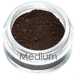 Mineral, Vegan & Organic Eyebrow Powder - Medium