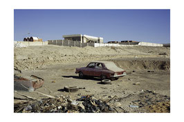 Désolation au désert de Bahariya - 40 x 60 cm