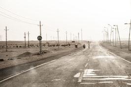 La route - 40 x 60 cm